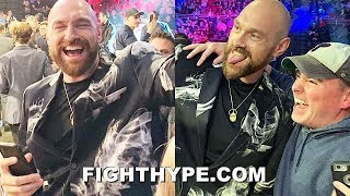 TYSON FURY SHOWS WHY HE'S