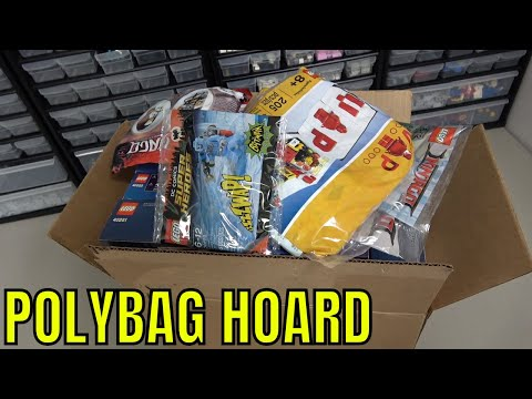 My LEGO Polybag And Promotional Set Hoard
