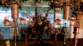 Exquisite Christmas Dining Table 2012