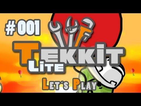 Let's Play Tekkit Lite #001 [Deutsch] [HD] - Eine verlassene Insel