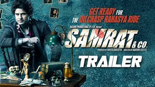 Samrat & Co. - Rajeev Khandelwal - Theatrical Trailer (2014) - Bollywood Suspense Thriller