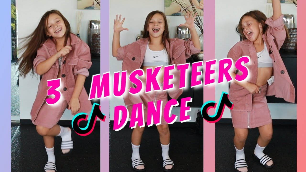 🔥 3 Musketeers  TikTok dance TUTORIAL 🔥