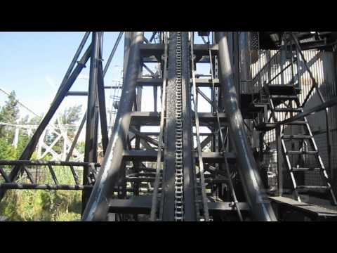 Saw - The (Entire) Ride Front Row Seat on-ride HD POV Thorpe Park