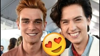 Cole Sprouse & KJ Apa 😍😍😍- CUTE AND FUNNY MOMENTS (Riverdale 2018)
