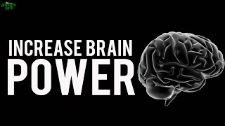 How To Increase Brain Power