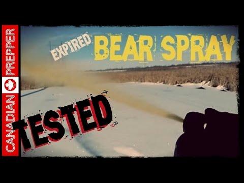 Expired Bear Spray/ Pepper Spray TESTED! | Canadian Prepper