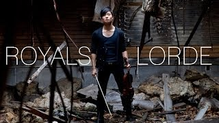 Royals Violin Cover - Lorde - Daniel Jang