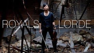 Royals Violin Cover - Lorde - Daniel Jang