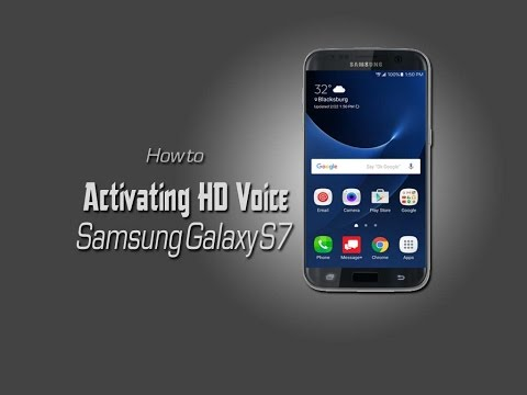 Samsung Galaxy S7: How to Activating HD Voice on your galaxy S7