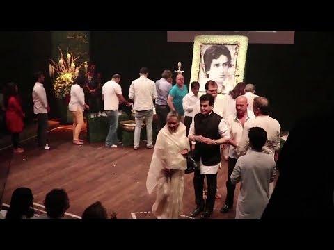 Shashi Kapoor's Prayer Meet Inside Video