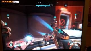 Lmao symetra 5 kill (I cant record on my pc)