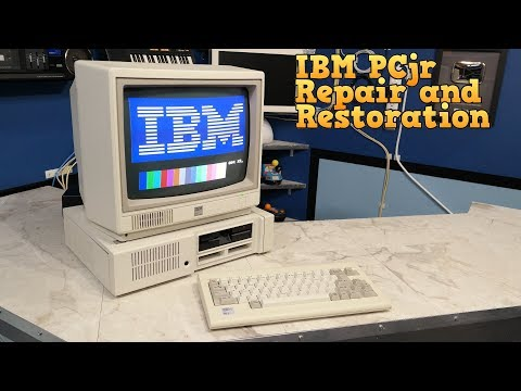 IBM PCjr Repair and Restoration