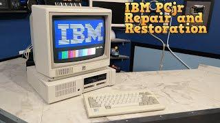 IBM PCjr Repair and Restoration - The 8-Bit Guy