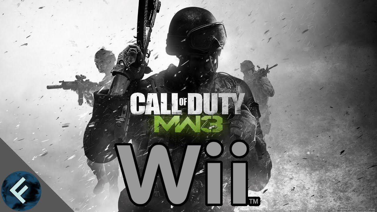 Call Of Duty Modern Warfare 3 Wii Gameplay 2015 Team Deathmatch On Seatown Youtube