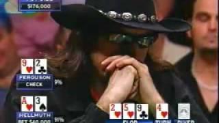 Phil Hellmuth vs Chris Ferguson - Insane Bad Beat