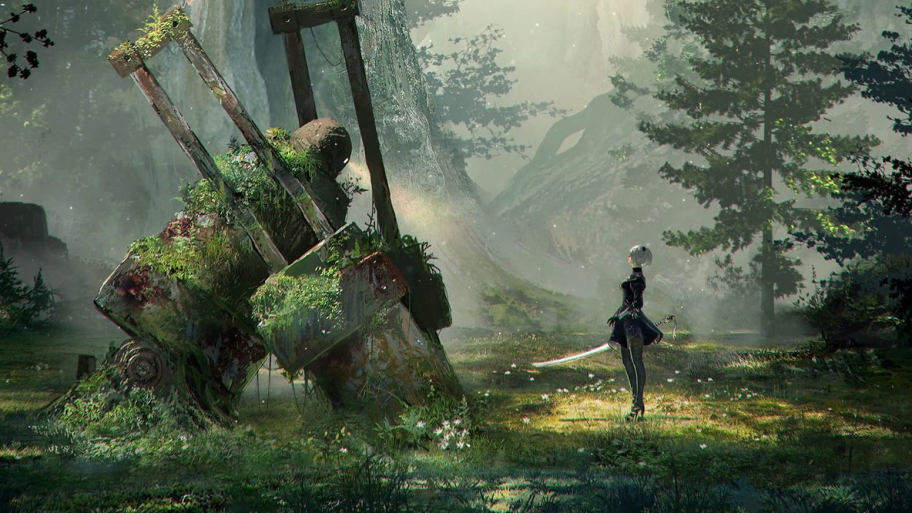 Dreamscene Anime Video Wallpaper Nier Automata Animated Wallpaper Dreamscene Hd