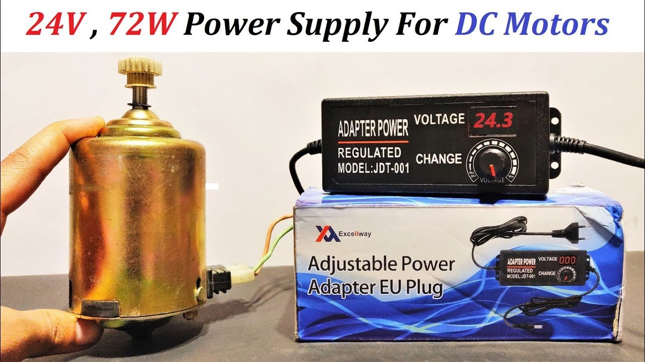 9v To 24v Power Supply For Dc Motor   Or 12v Ups Battery