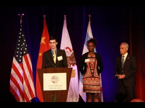 China General Chamber of Commerce (Chicago) 2017 Gala - Wanxiang America 100K Strong Award Speech