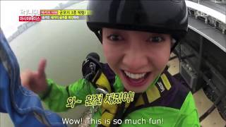 Running Man  Song Ji Hyo Bungee Jump 133]