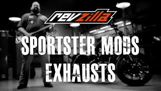Harley Sportster EP1 - Exhaust Modification at RevZilla.com