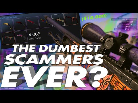 I Trolled The Dumbest Scammers In CS:GO...