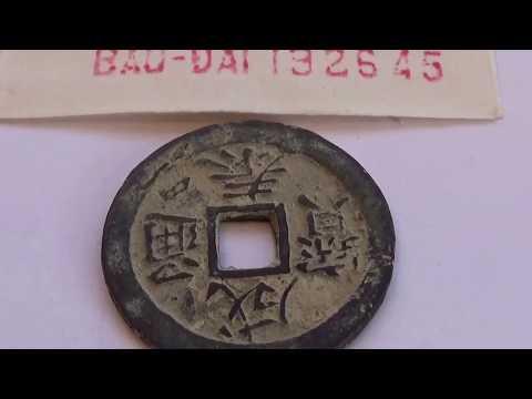 Rare Bao-Dai 1826-45 Vietnamese Coin
