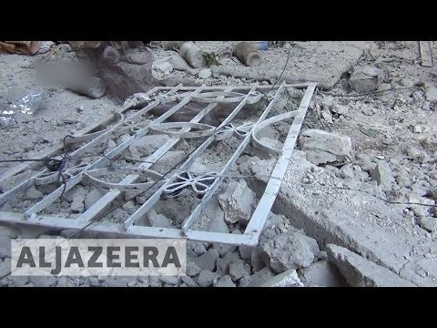 UN: 400,000 trapped as airstrikes hit Syria's Ghouta