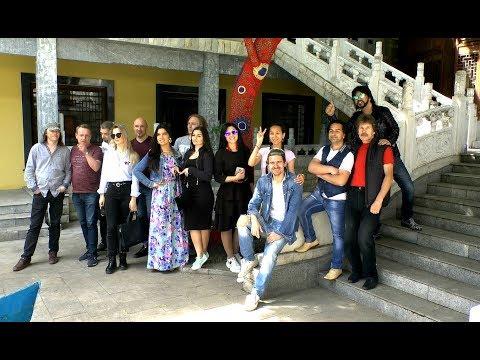 Александр Марцинкевич и группа Кабриолет в Золотом городе на музыкальном фестивале