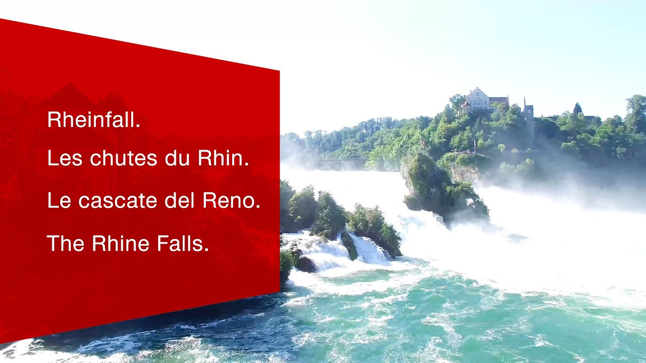 Rhine Falls information - Schloss Laufen on the Rhine Falls