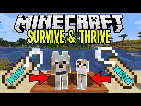 Minecraft | Finding NAME TAGS And Naming PETS! | Minecraft Survival Let's Play Tutorial Ep 11