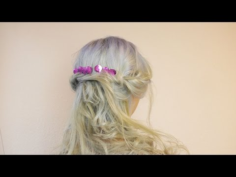 Super Meerjungfrauen Frisur Mit Ombre Haarfarbe Verkleidung Fur