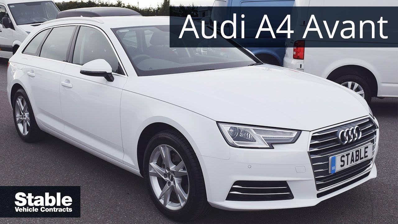 2016 Audi A4 Avant 1.4 TFSI Sport walk around - YouTube