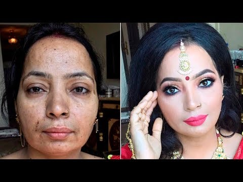 The Power of Makeup ! Indian makeup by Goar Avetisyan