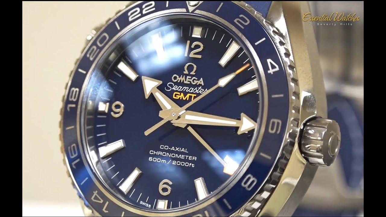 Omega Seamaster Planet Ocean Blue