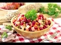 Салат винегрет домашний с горошком новый рецепт
