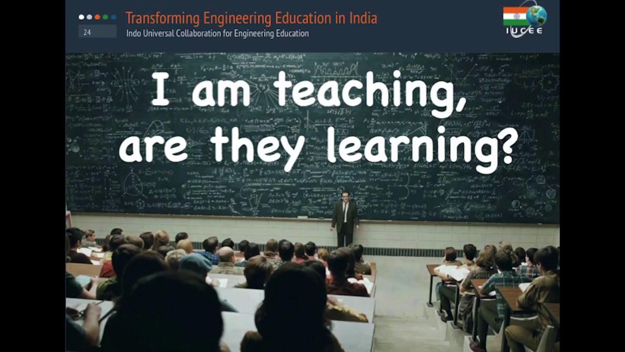 IUCEE – Indo Universal Colloboration for Engineering Education