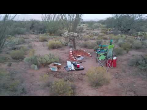 AZ Off-Grid property in Southern AZ.. The Beginning..