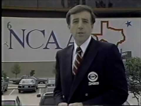 Brent Musburger and the state of college sports 1986