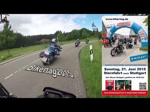 Bikertag 2015 - Sternfahrt Impressionen | Emmendingen - Freudenstadt - Stuttgart