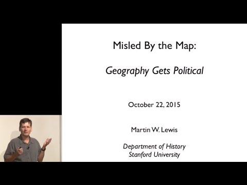 "Martin Lewis, ""Misled by the Map: Geography Gets Political"""