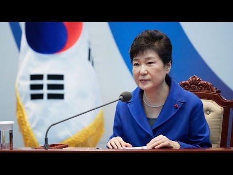 South Korea's impeached president says goodbye