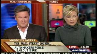 """Morning Joe"" Scarborough Says ""Fuck You"" On The Air"
