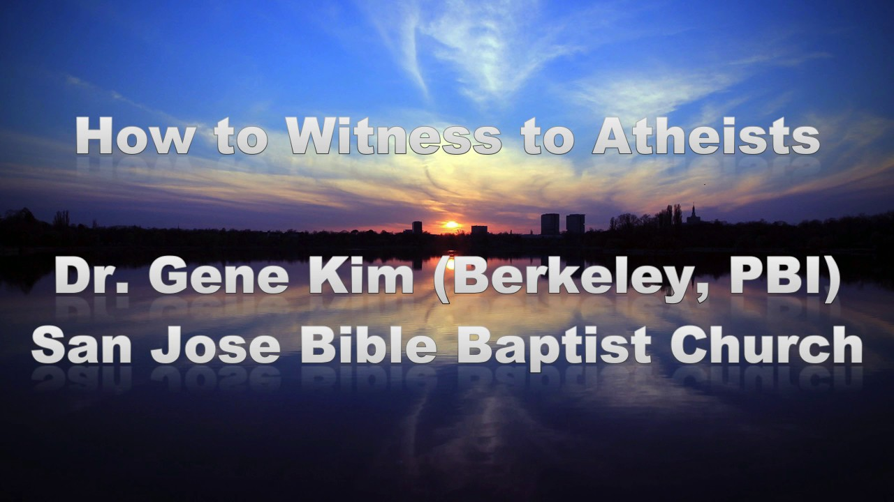 how to witness to atheist