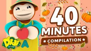 Best Fall Fruits Song Compilation   Didi & Friends Cute Nursery Rhymes & Kids Songs