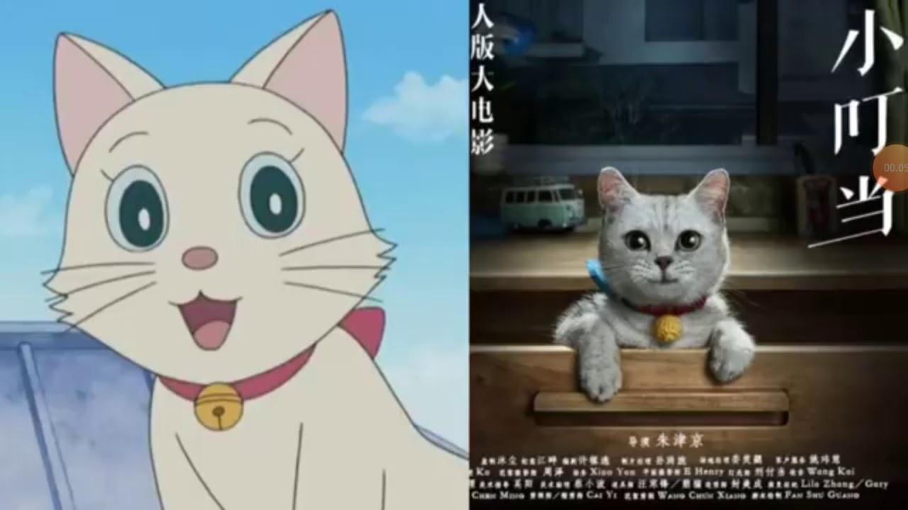 Doraemon Kartun Sama Doraemon Asli