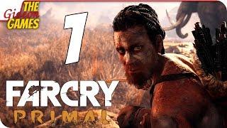 прохождение Far Cry: Primal на Русском PС60fps - #1 (Ну и дичь!)