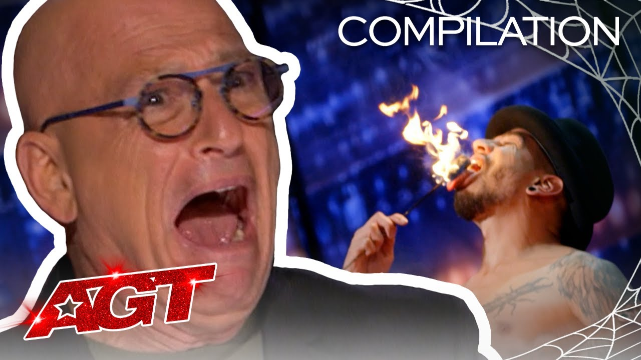 Scary Talent That You Can't Stop Watching! - America's Got Talent 2020