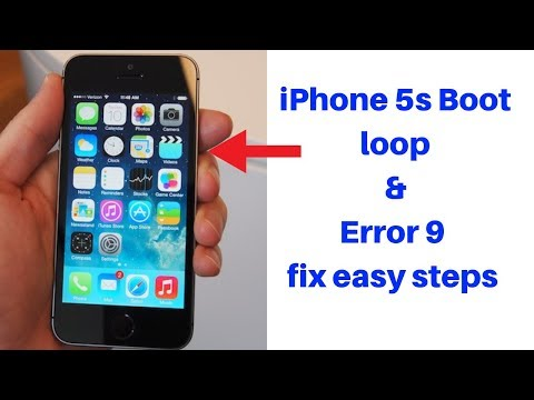 IPhone 5s Error 9 Done Easy Steps.