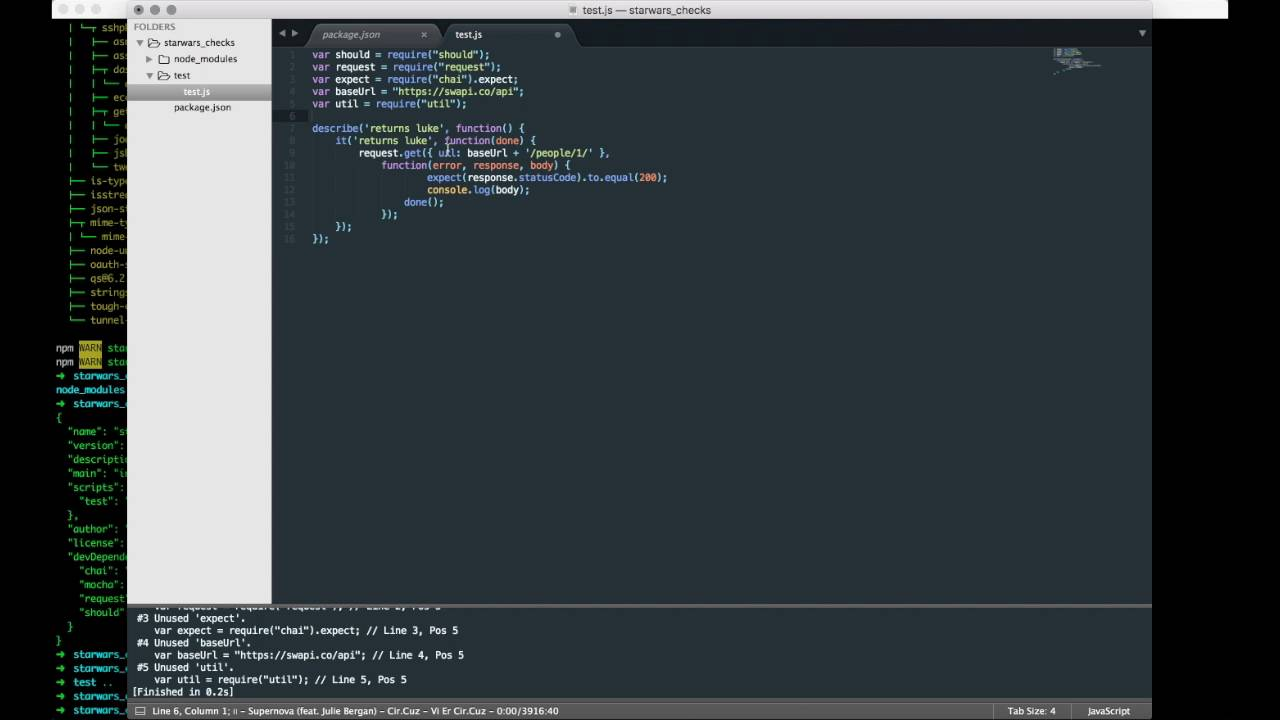 Tutorial: Write a simple API test with Mocha in JavaScript