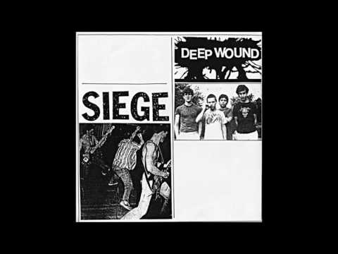 Deep Wound / Siege   split EP [full]